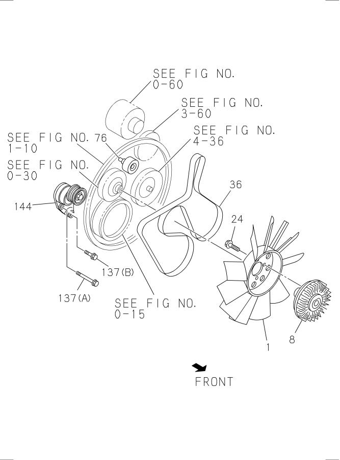 Isuzu Npr-hd Belt  Fan  Engine  Eng